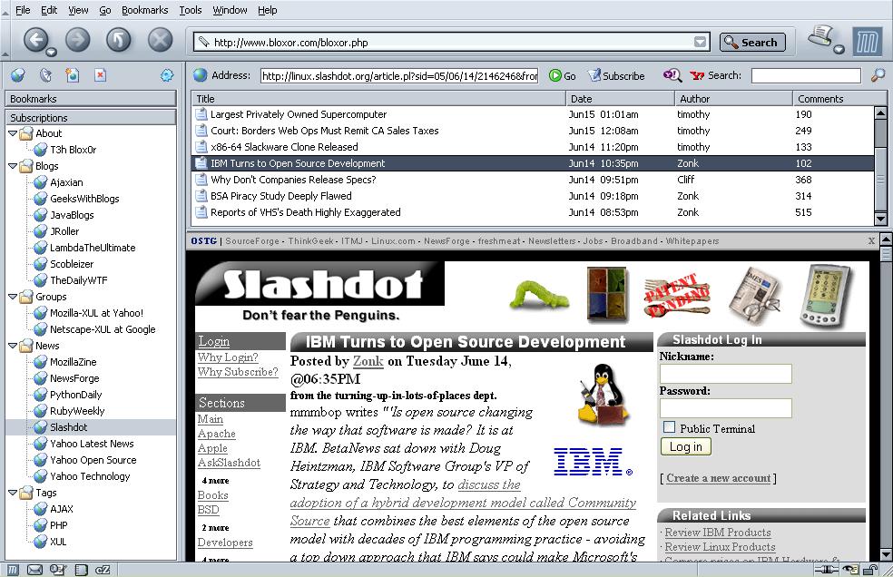 Blox0r RSS Reader Download : RSS Reader